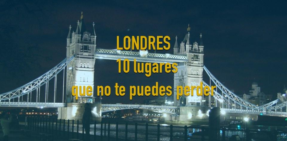 Top 10 Londres