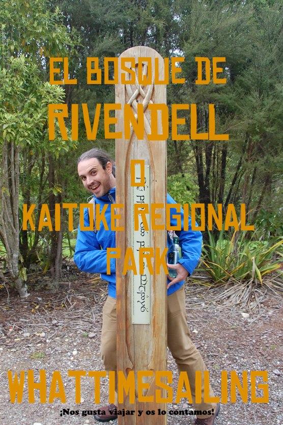 Bosque de Rivendell o Kaitoke Regional Park