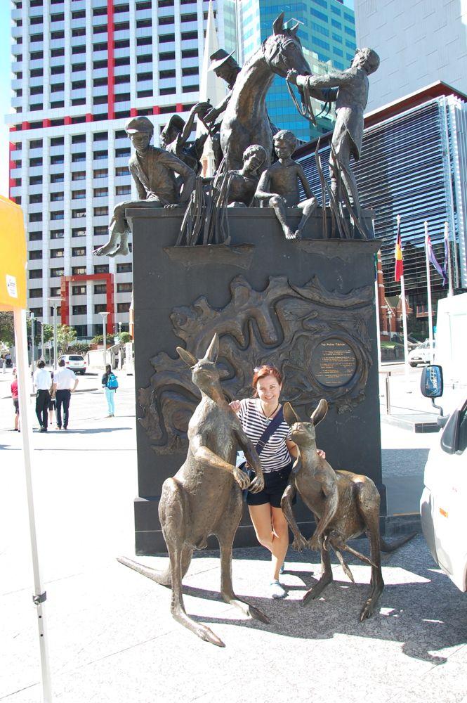 Escultura en Brisbane