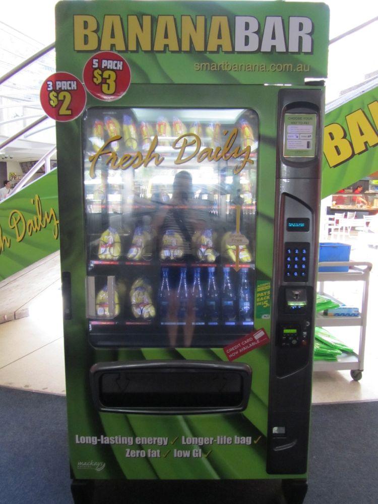 Máquina expendedora de Plátanos