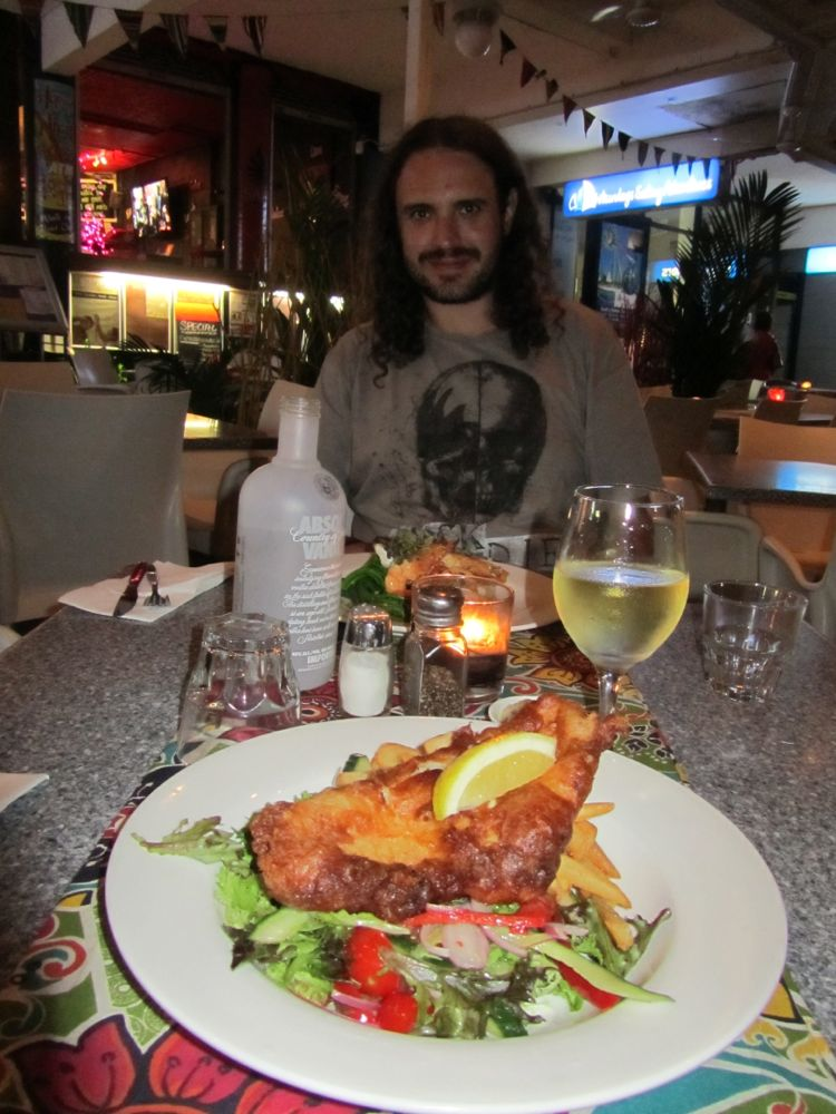 Barramundi Fish and Chips