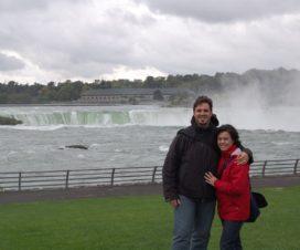 Cataratas del Niagara desde el lado Estado Unidos USA
