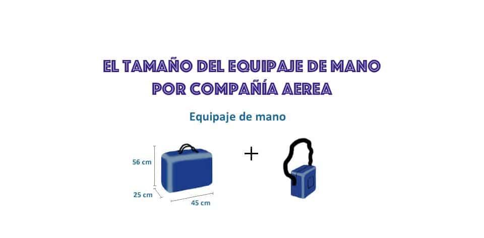 nueva descuento especial hermosa en color El tamaño de la maleta y el equipaje de mano por compañía ...