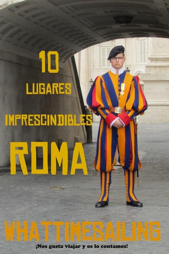 10 lugares que ver en Roma