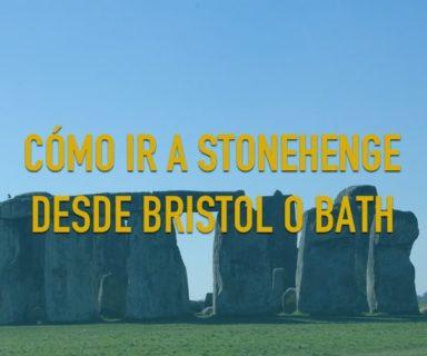 Como ir a Stonehenge desde Bristol o Bath