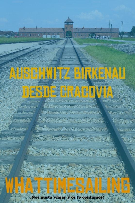 Auschwitz Birkenau desde Cracovia pinterest