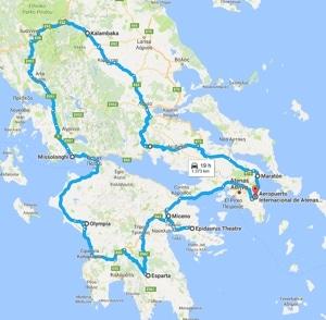 Grecia Continental y Peloponeso