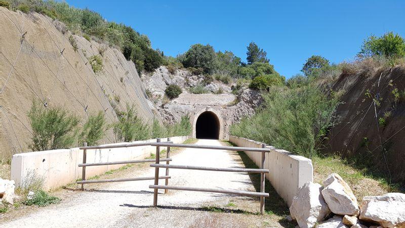 Tunel Via Verde Manacor Arta