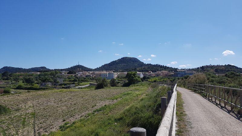 Vista Via Verde Manacor Arta