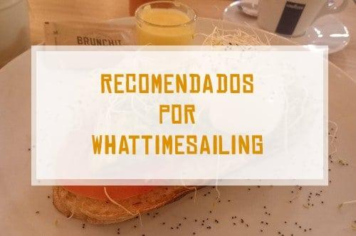 Recomendados por Whattimesailing son restaurantes, hoteles, excursiones, tours o lugares que nos han encantado.