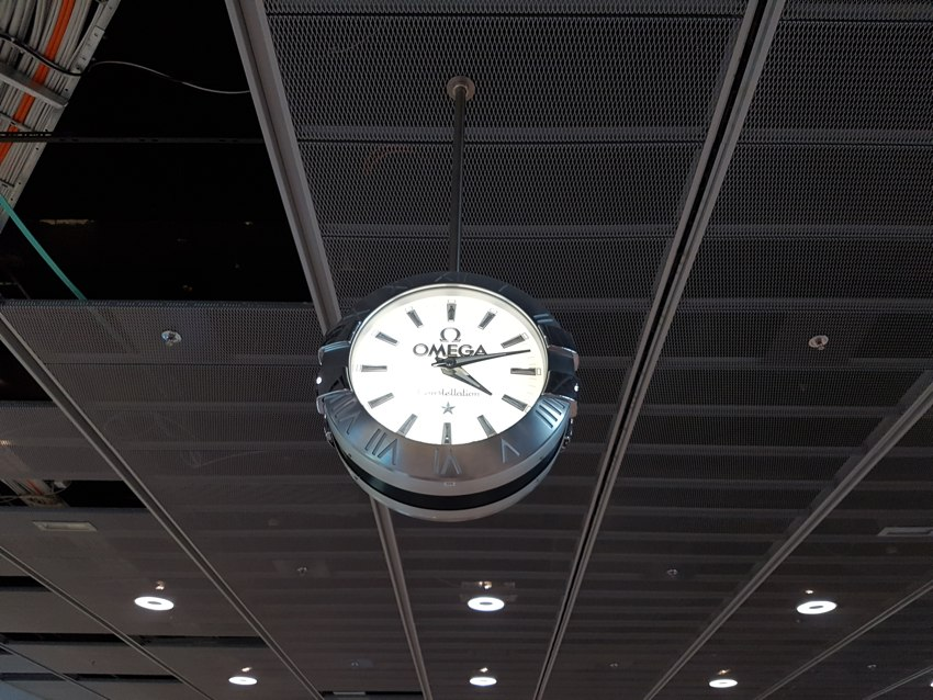 reloj estación Zúrich Omega