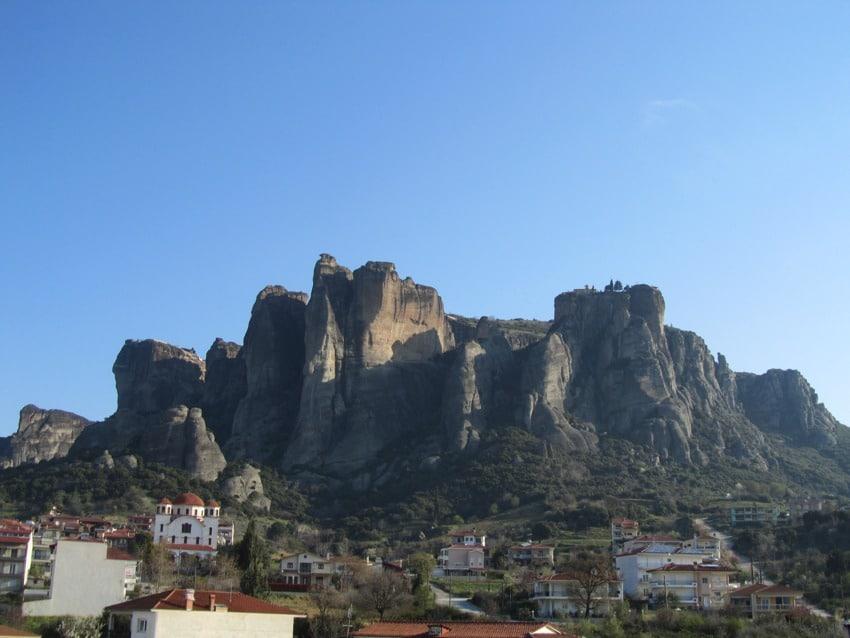 Hotel en Kalambaka cerca de Meteora (Grecia)