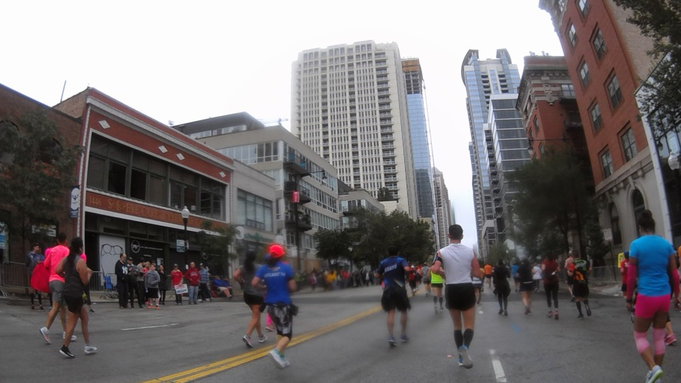 Llegando Maratón Chicago