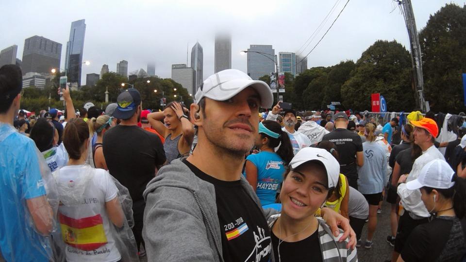 Salida Maratón Chicago