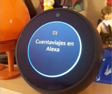 Cuentaviajes en Alexa